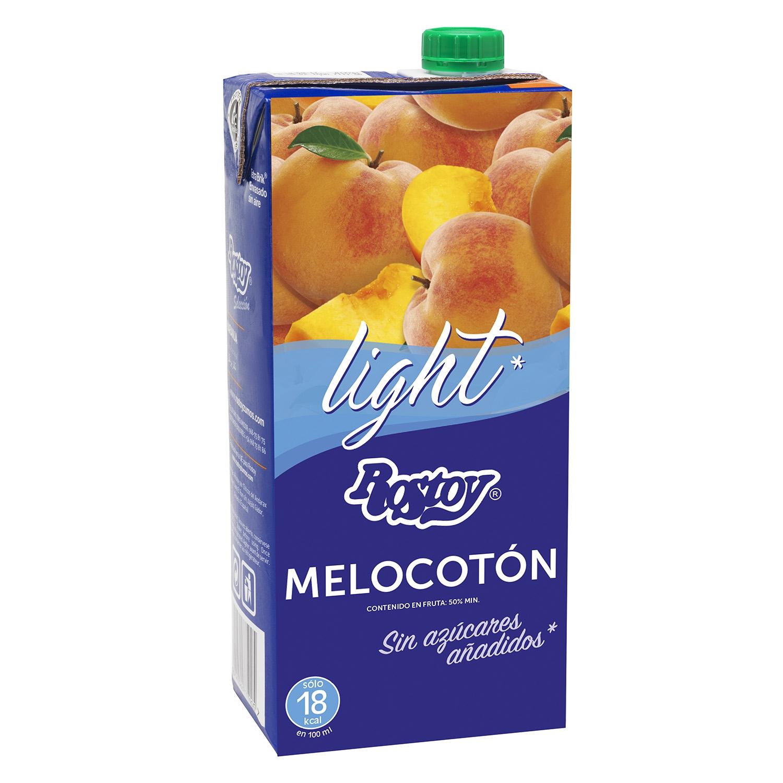 Zumo de melocotón Rostoy light sin azúcar brik 1 l.