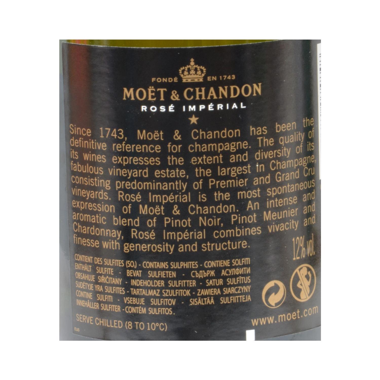 Champagne Moët & Chandon Rosé Imperial brut 37,5 cl. - 2