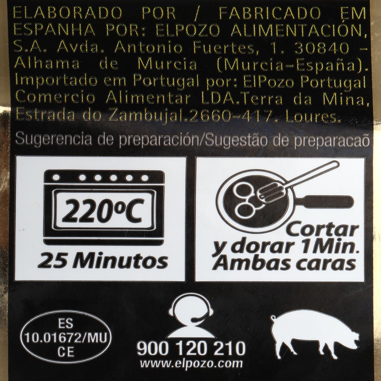 Solomillo de Cerdo con Miel y Finas Hierbas Extratierno El Pozo 500 g aprox -