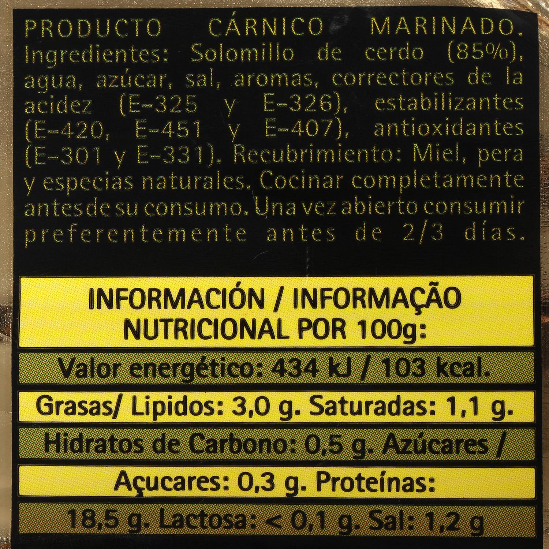 Solomillo de Cerdo con Miel y Finas Hierbas Extratierno El Pozo 500 g aprox - 3