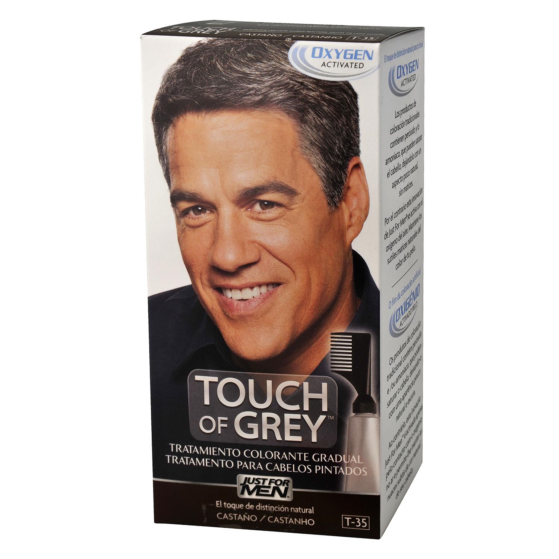 Tratamiento colorante castaño Touch of Grey 1 ud.