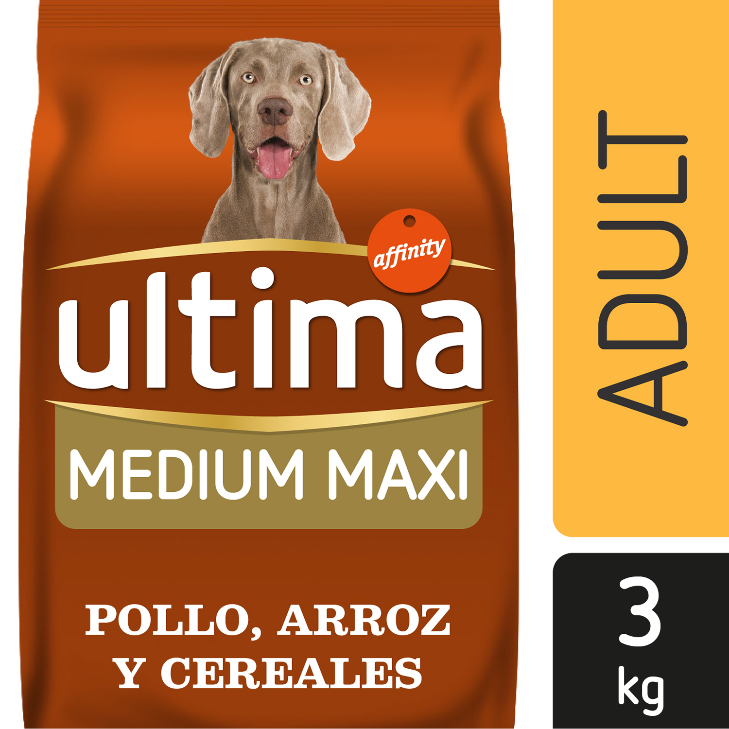 Alimento Perro Seco Ultima Medium Maxi Adulto Pollo -