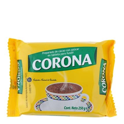 Chocolate a la taza Corona 250 g.