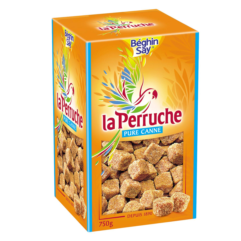 Azúcar moreno en terrones La perruche 750 g.