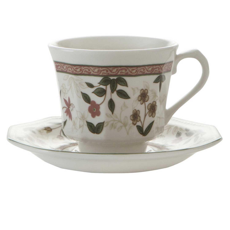 Set de 2 Taza té de Loza CHURCHILL Assam 4pz - Decorado