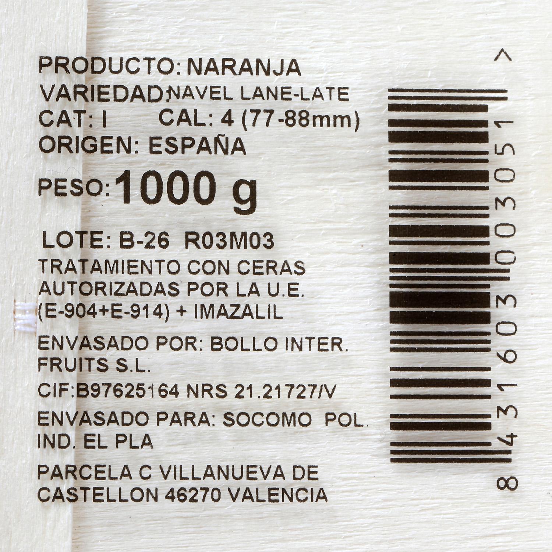Naranja Marca Selecta Carrefour Bandeja 1 Kg - 3
