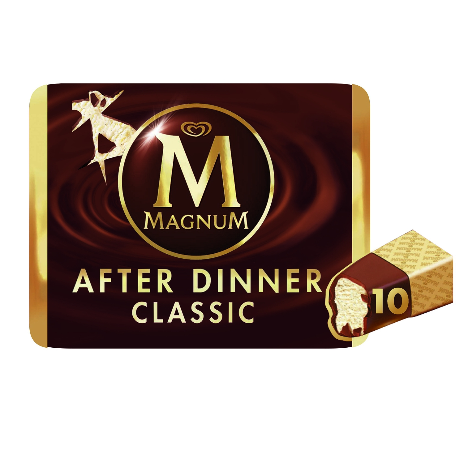 Helado After Dinner Magnum sin gluten 10 ud.