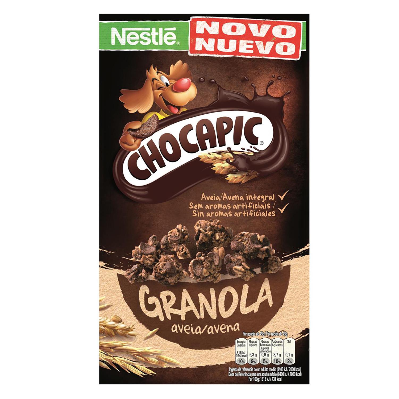 Cereales granolas avena