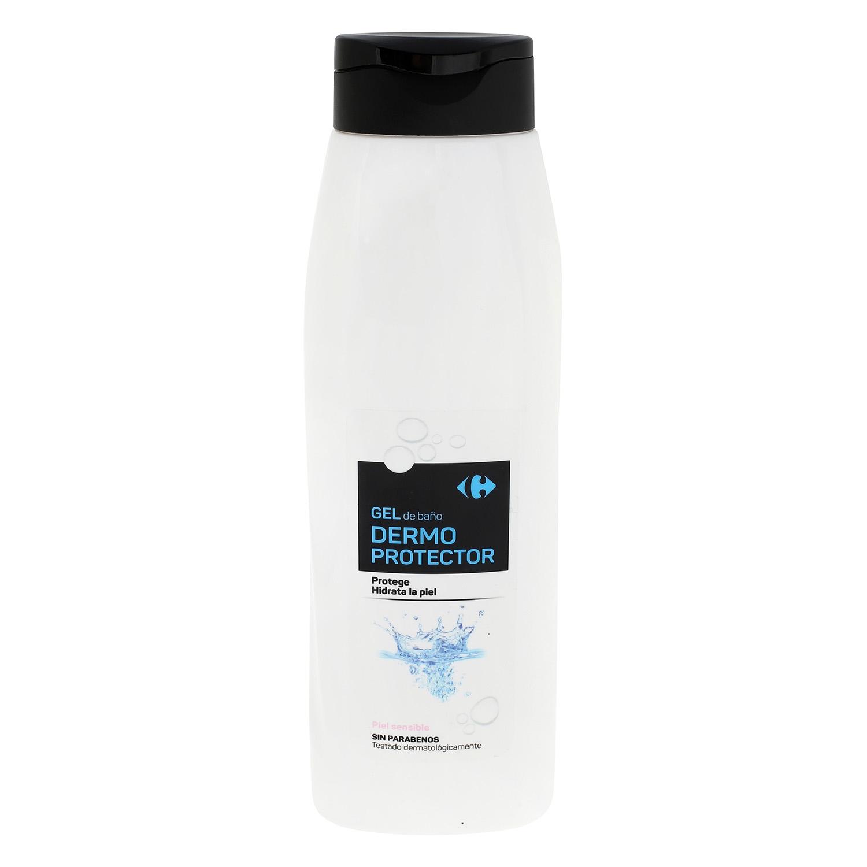 Gel de ducha Dermoprotector Carrefour 750 ml.