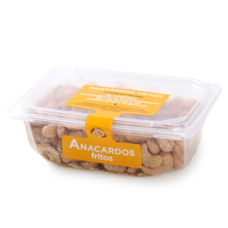 Anacardos fritos Carrefour tarrina 250 g - 2