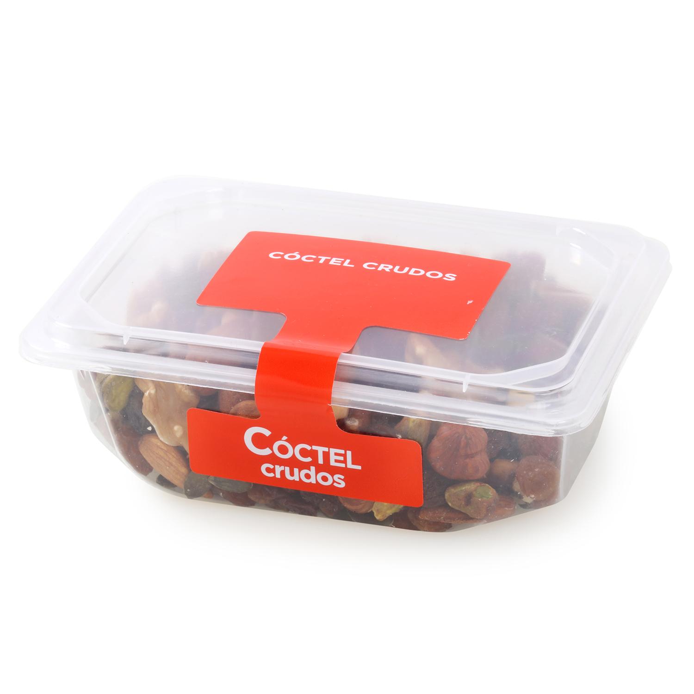 Coctel frutos secos crudos Carrefour tarrina 250 g (pasa, pipa calabaza, nuez, avellana, almendra y pistacho) - 2