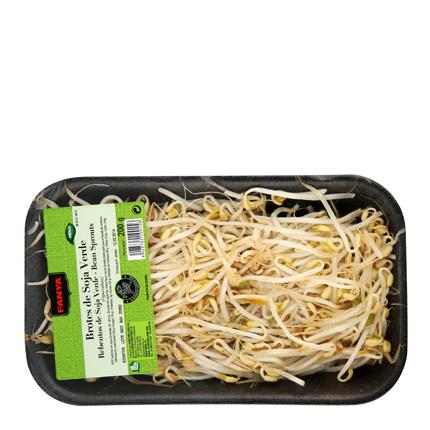 Brotes de soja verde Fanya Bandeja 200 g -