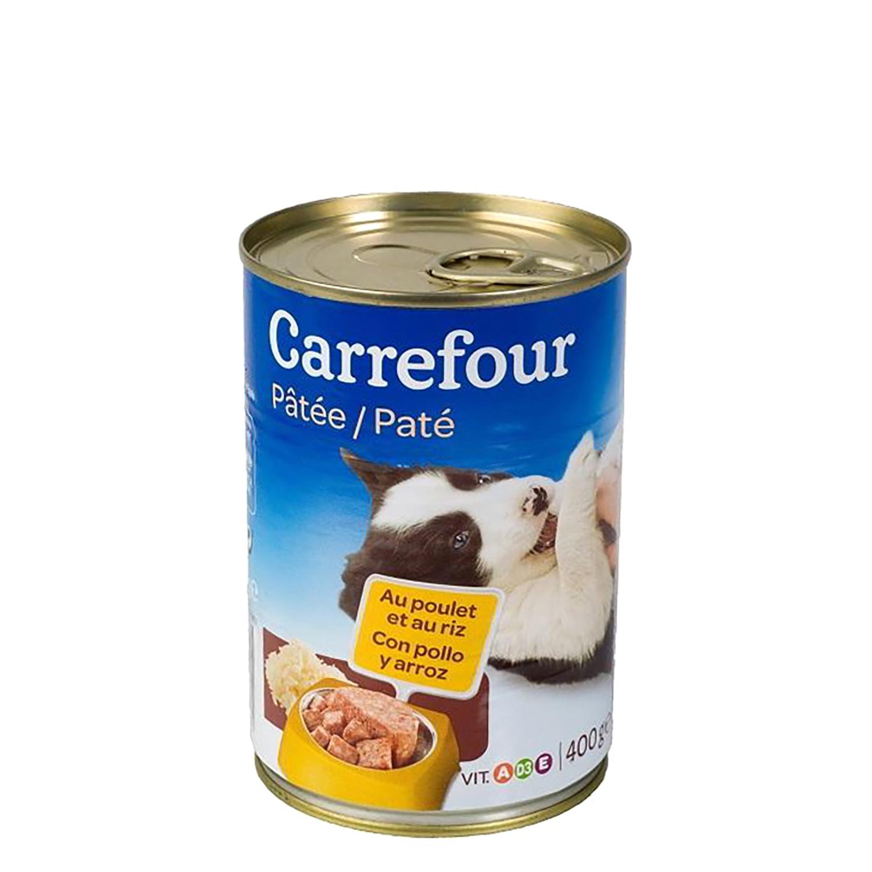 Lata Pate con Pollo y Arroz para Cachorros