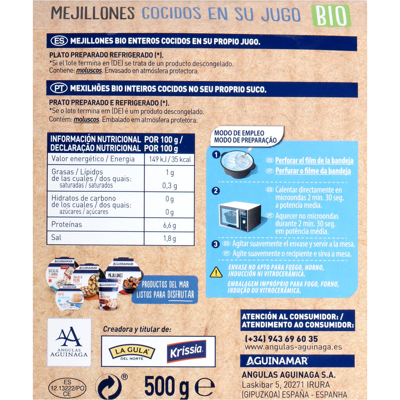 Mejillon Aguinamar Bio 500 g  - 3