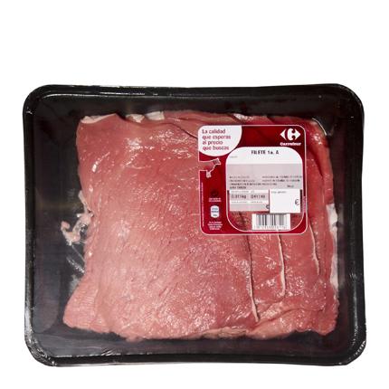 Filete 1ªA Vacuno Carrefour 500 g -