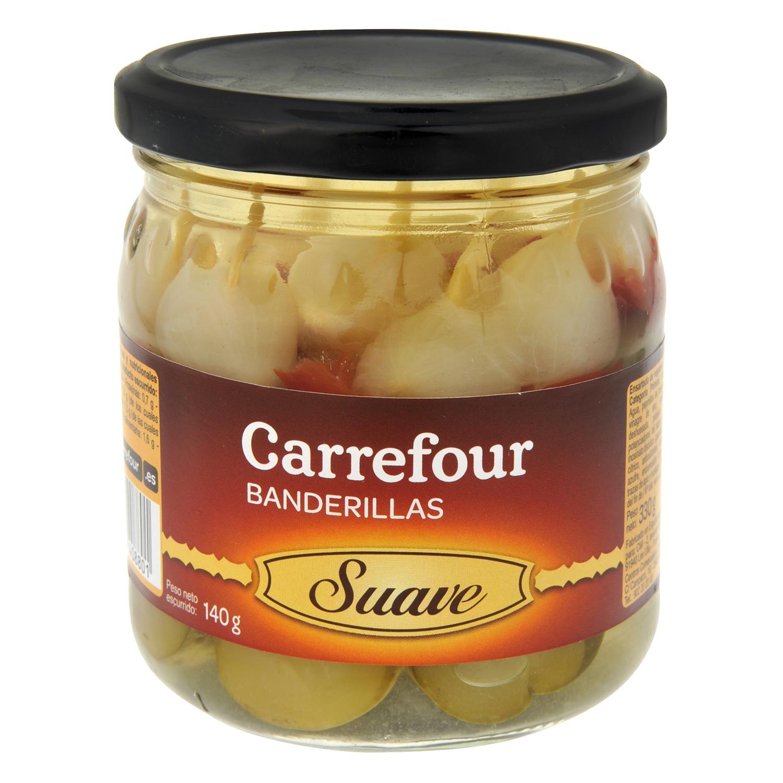 Banderillas suaves Carrefour 150 g.