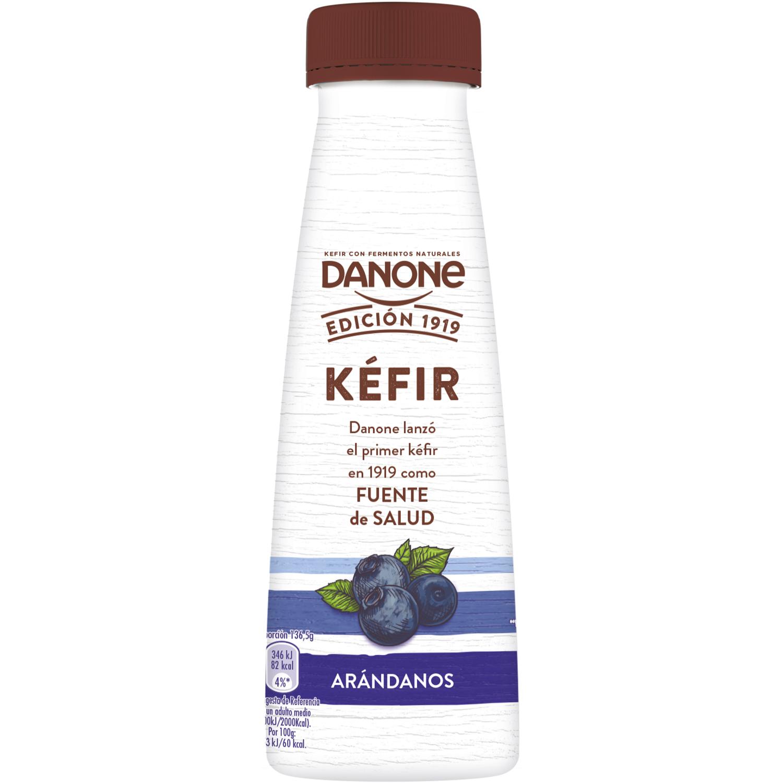 Kéfir líquido de arándanos Danone 273 g.