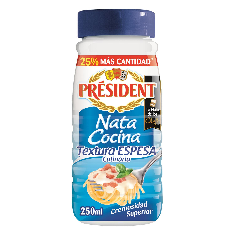 Nata para cocinar espesa Président 250 ml.
