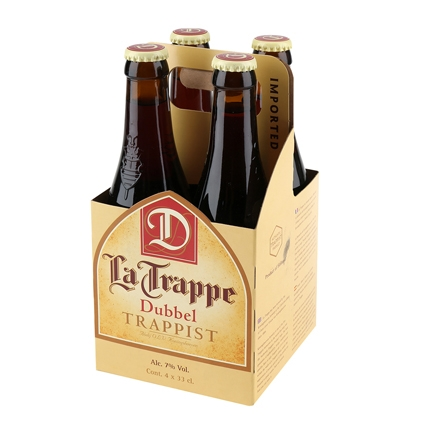 Cerveza La Trappe Dubbel holandesa botella 33 cl.