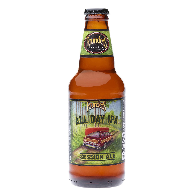 Cerveza artesana Founders All Day IPA Session Ale botella 35,5 cl.