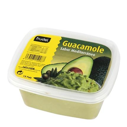 Guacamole mediterráneo Frudel envase 215 g.