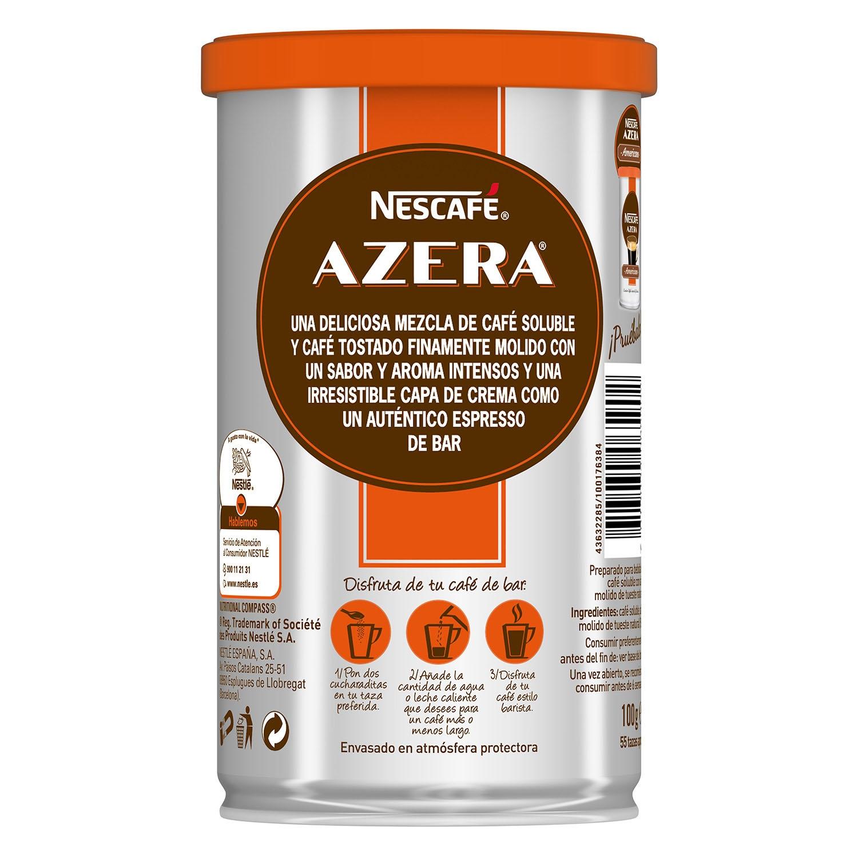 Café soluble natural expreso intenso Azera - 3