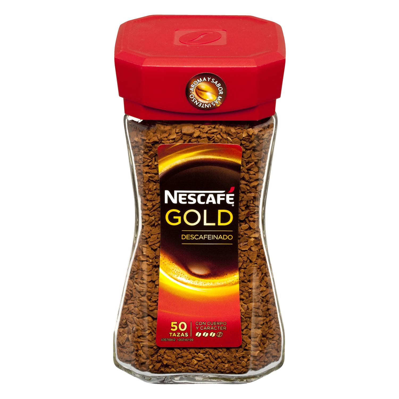 Café soluble mezcla descafeinado Gold -