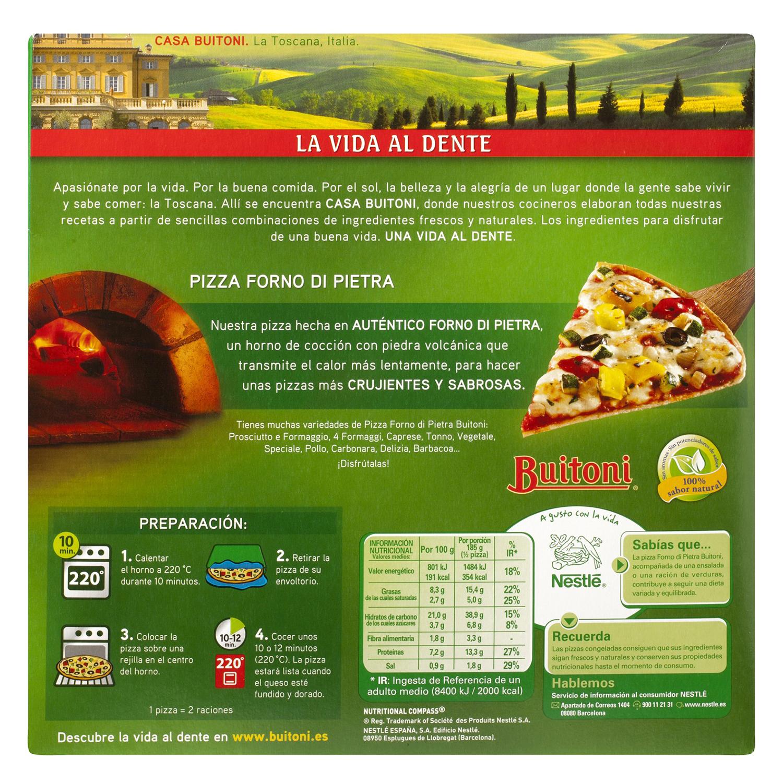 Pizza forno di pietra vegetale - 2