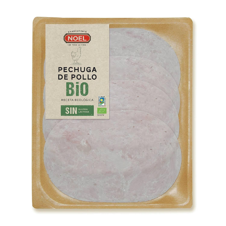 Pechuga de pollo ecológica Embutidos Noel 80 g