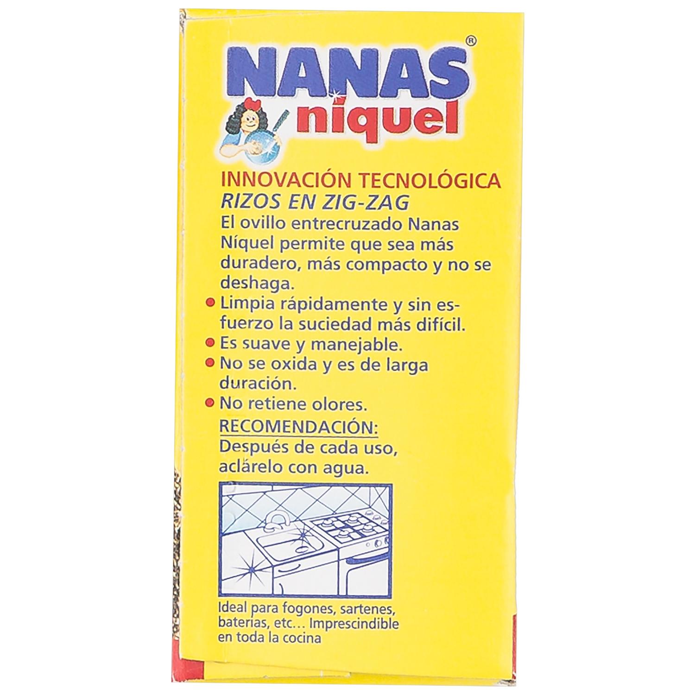 Estropajo  Niquel Nanas  - - 2