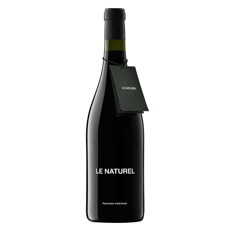 Vino D.O. Navarra reposado tinto Le Naturel 75 cl.