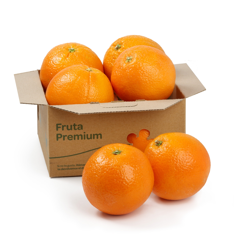 Naranja de mesa granel Premium 1 Kg aprox