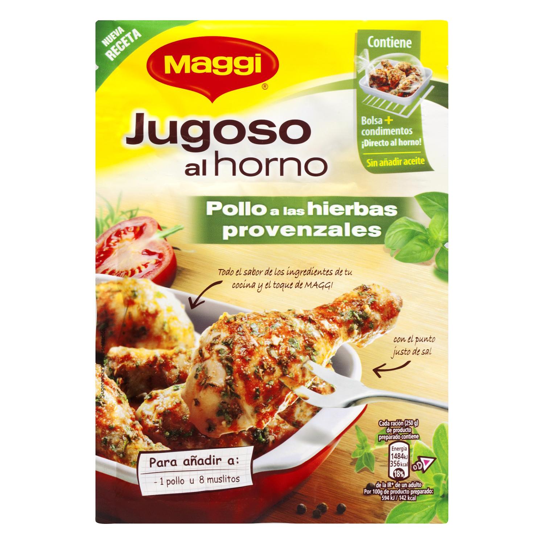Sazonador para pollo Maggi hierbas provenzales 34 g.
