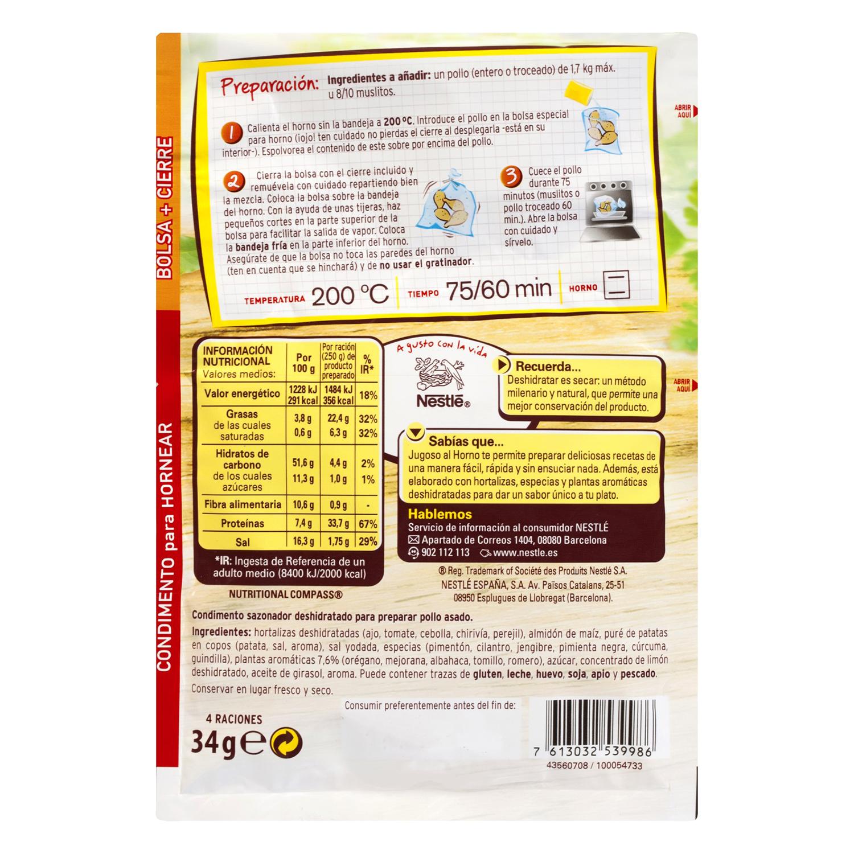 Sazonador para pollo Maggi hierbas provenzales 34 g. -