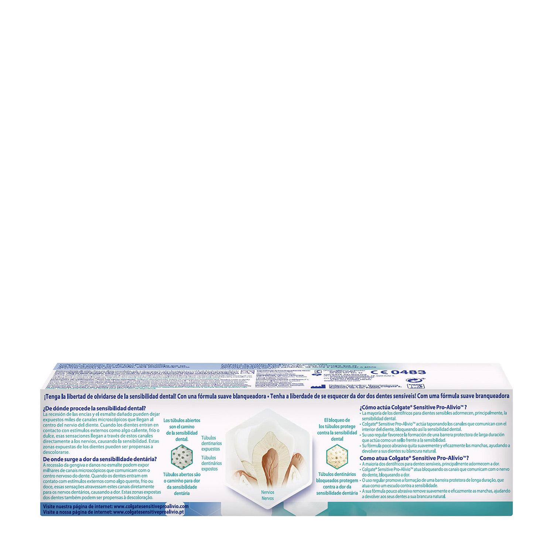 Dentífrico Sensitive Pro-Alivio blanqueador - 2