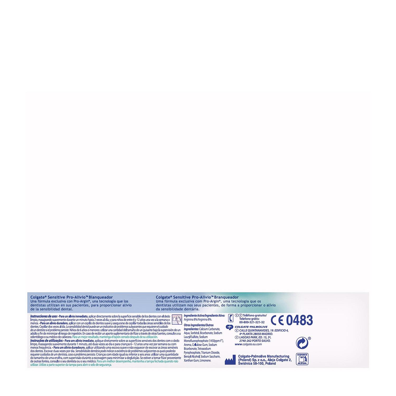 Dentífrico Sensitive Pro-Alivio blanqueador - 3