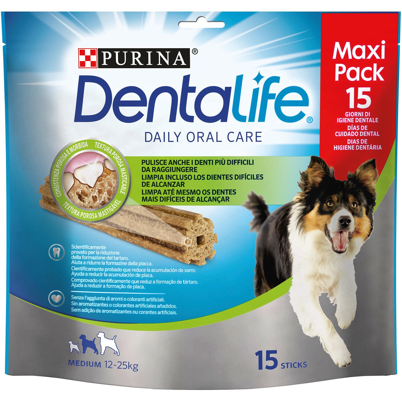 Purina Dentalife Snacks para Perro Mediano 345g -15 Sticks