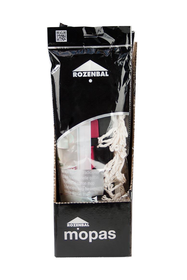 Mopa de algodón ROZENBAL - Beige - 2