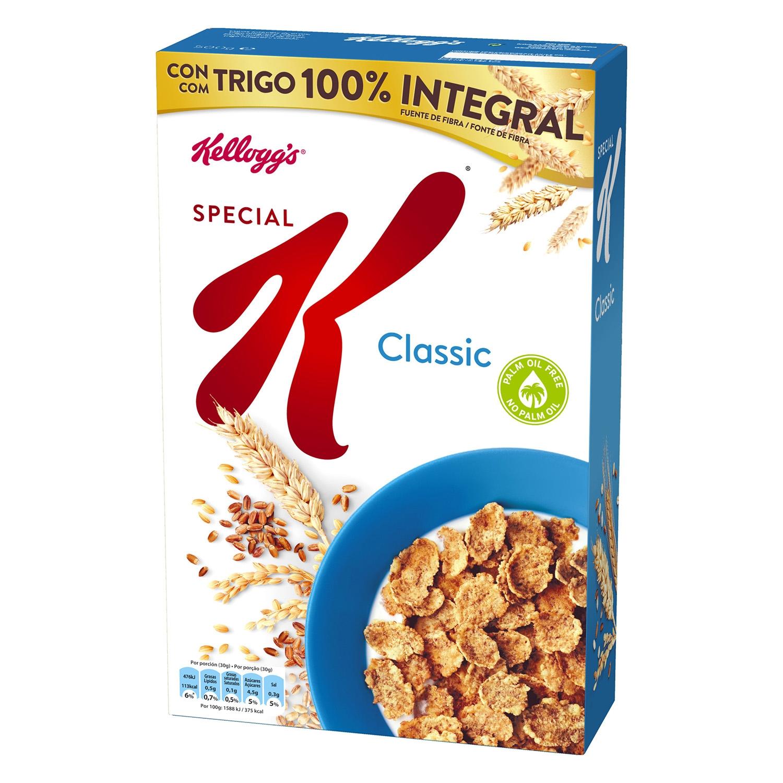 Cereales integrales de arroz, trigo y cebada Special K Kellogg's 500 g.