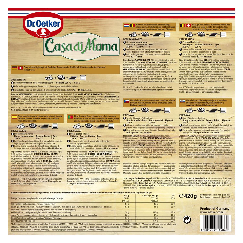 Pizza bolognese Dr. Oetker 410 g. -