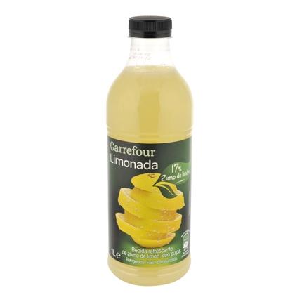 Limonada Carrefour botella 1 l.