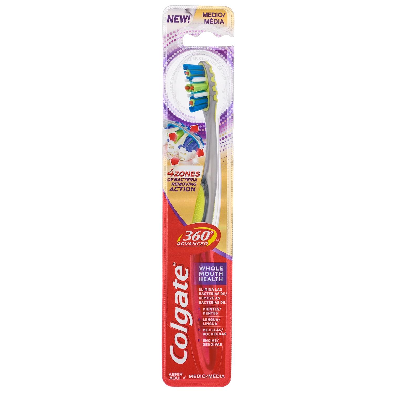 Cepillo de dientes 360° Advanced medio