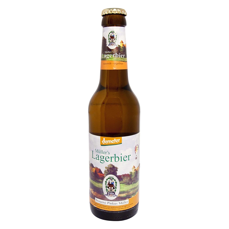 Cerveza ecológica Demeter Lager botella 33 cl.
