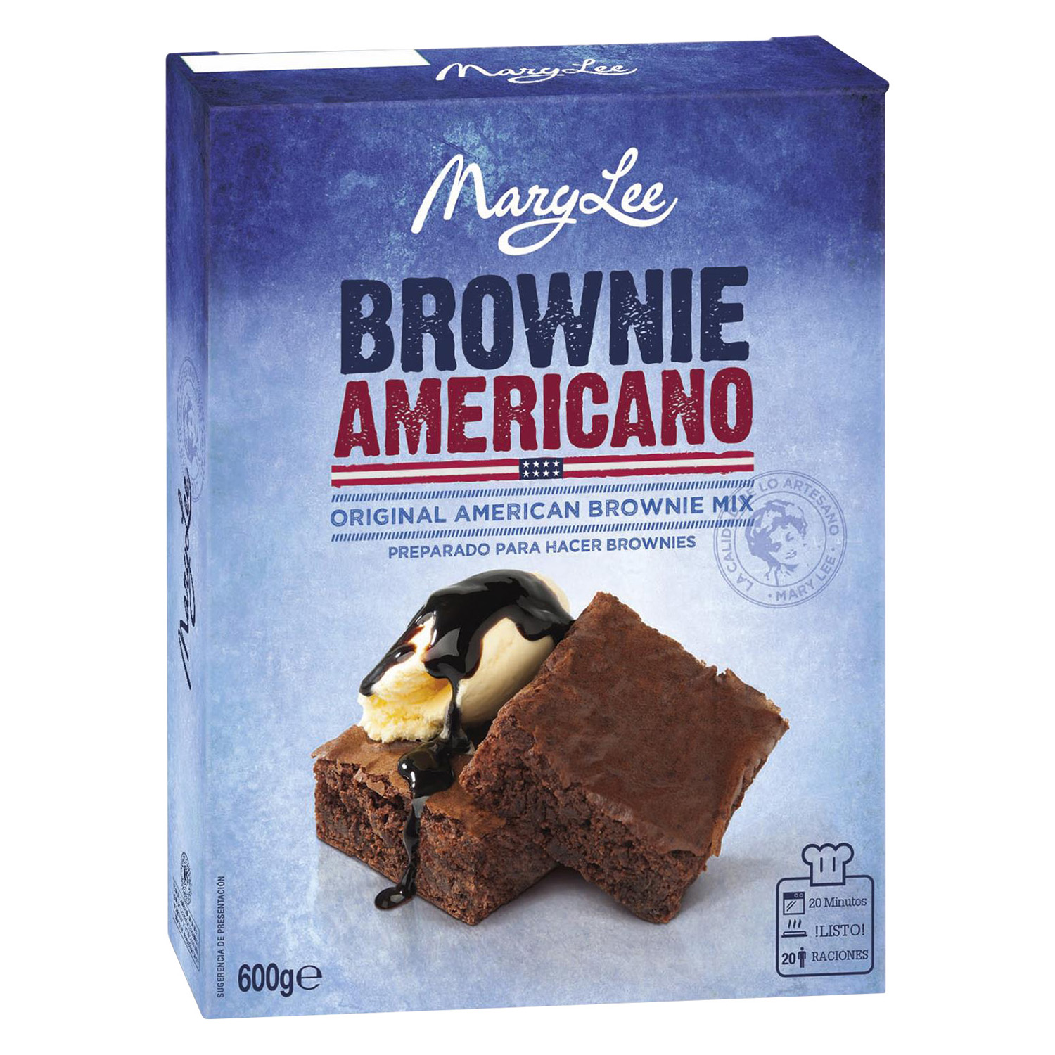 Brownie de chocolate Mary Lee