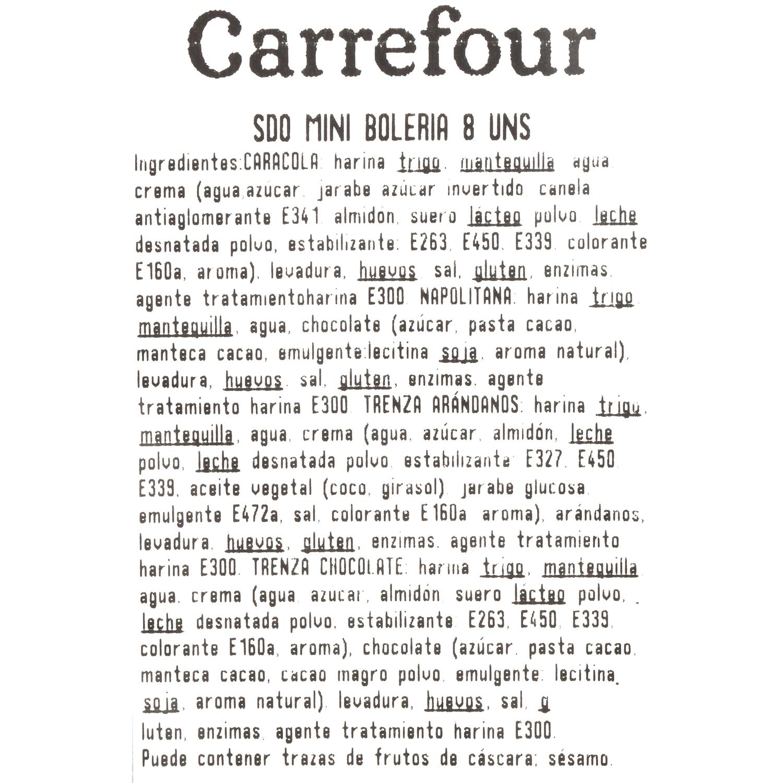 Surtido mini bollería Carrefour 8 ud - 3