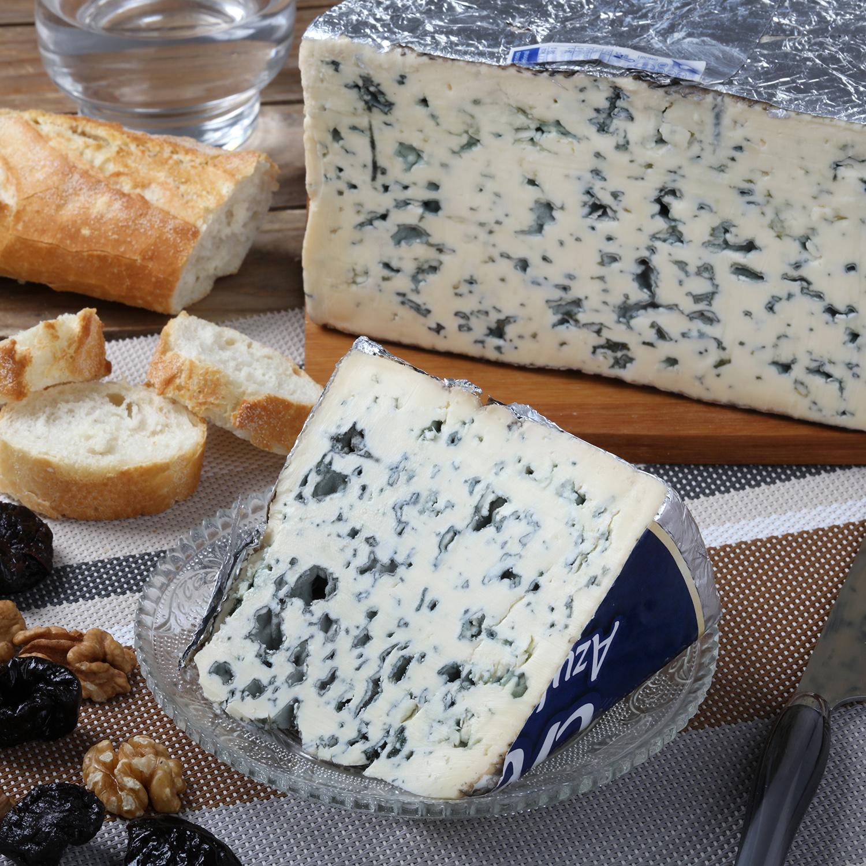 Queso azul cremoso extragraso Cantorel cuña 150 g