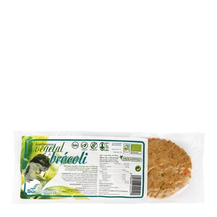 Hamburguesa de tofu con brócoli ecológica
