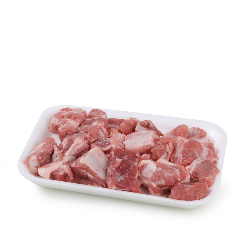 Tiras Costillas de Cerdo Carrefour 500 g aprox -