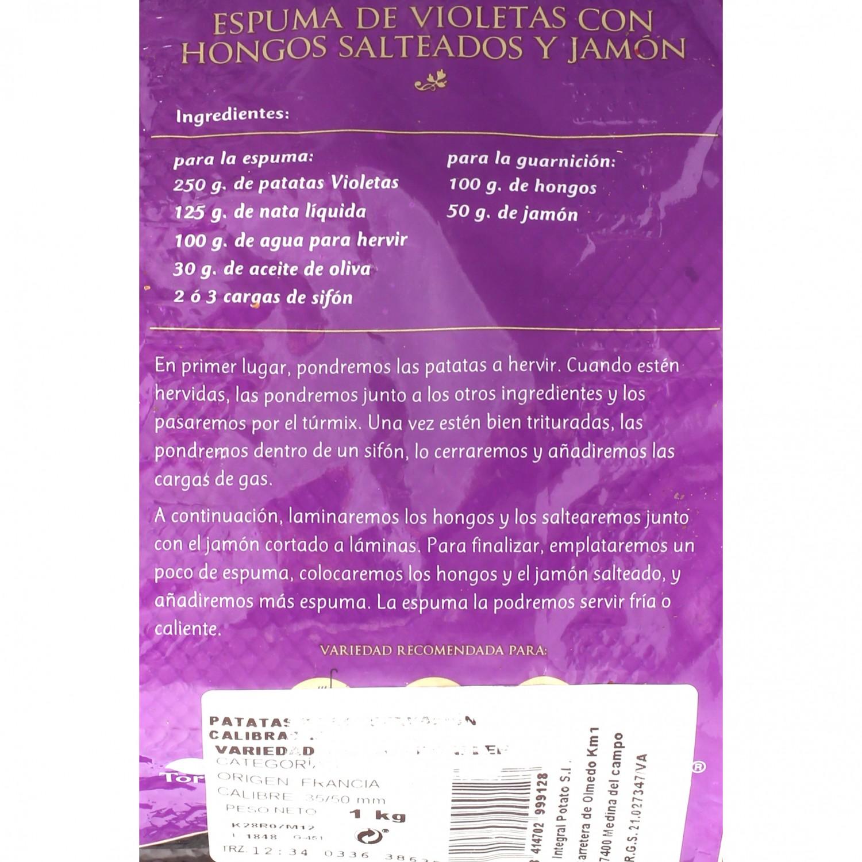 Patata violeta selecta - 3