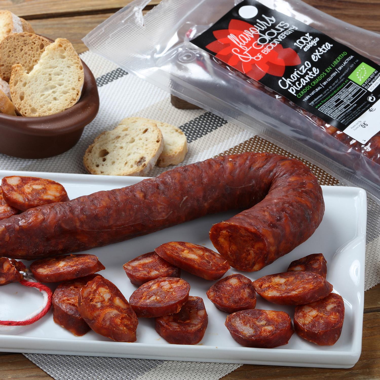 Chorizo extra picante ecológico sarta Flavours and Colours 280 g - 2